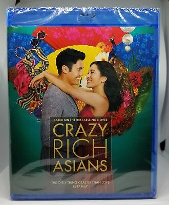 Crazy Rich Asians Blu-ray - DVD - Digital
