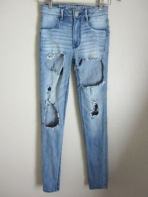 American Eagle Outfitters AE Destroyed Jeans 00 x 29