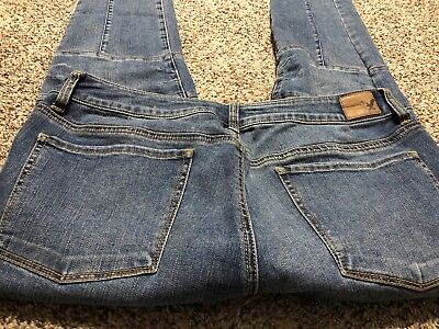 AE AMERICAN EAGLE OUTFITTERS JEGGING ANKLE SUPER STRETCH WOMENS JEANS SIZE 14 S