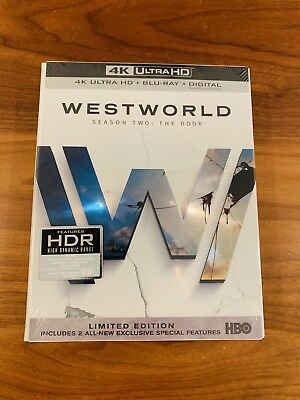 Brand New Westworld Season 2 4K - Bluray - Digital Sealed - Unopened