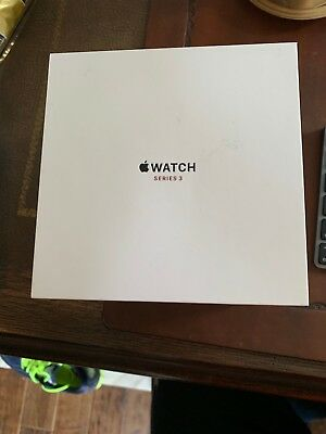 Apple Watch Series 3 Stainless Steel Box ONLY- No WATCH