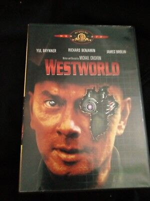 Westworld DVD 2000 Yul Brynner Richard Benjamin James Brolin