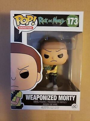 Weaponized Morty Funko Pop 173 RICK AND MORTY