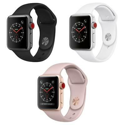 Apple Watch Series 3 - 38MM  42MM - Aluminum - Sport Band GPS - Cellular Data