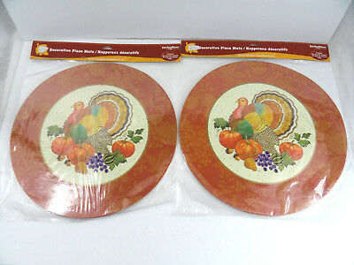 16 Thanksgiving Turkey Placemats 2 sided Kids Coloring Designware American Greet