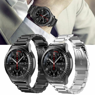 Stainless Steel Strap Watch Band Bracelet For Samsung Gear S3 Classic  Frontier