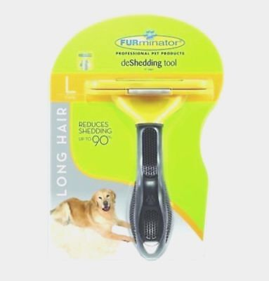 FURminator deShedding Tool for Large Dog 51-90 lbs with Long Hair