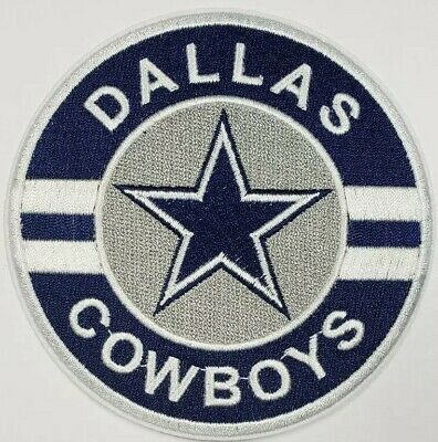 Dallas Cowboys Iron On Logo Embroidered PatchFree Shipping from the U-S-A-
