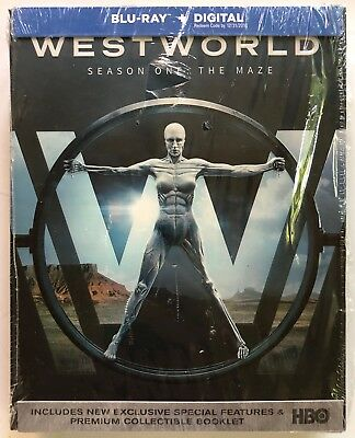 WESTWORLD SEASON ONE THE MAZE BLU RAY DIGIPACK 3 DISC SET - SLIPBOX FREE SHIP