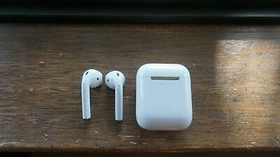 Apple AirPods Wireless Earbuds - White Dropped In Water
