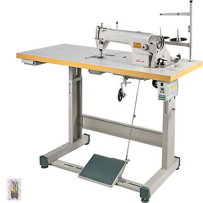 DDL-8700 Sewing Machine with Table-Servo Motor-Stand Industrial 550W Manual