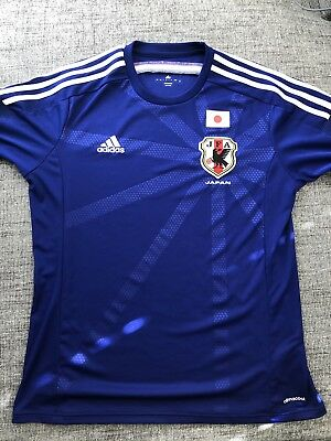 Japan JFA World Cup Soccer Adidas Size XO HOME JERSEY 2014 PRACTICALLY NEW