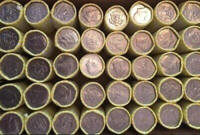 1 Unsearched Bank Sealed Half Dollar Roll