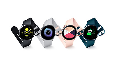 Samsung Galaxy Watch Active 2019 SM-R500 4GB Bluetooth 4-2 Smartwatch NEW