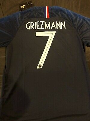 France 2018 World Cup Antoine Griezmann Away Jersey - NWT  Mens XL