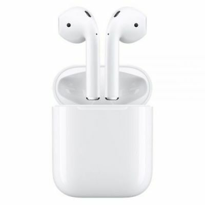 Apple AirPods White MMEF2AMA In Ear Bluetooth Headset Authentic Airpod - Used