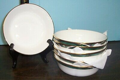 6 LENOX  DEBUT COLL- KELLY SOUP  CEREAL BOWLS 6-25 NEVER USED FREE US SHIPPING