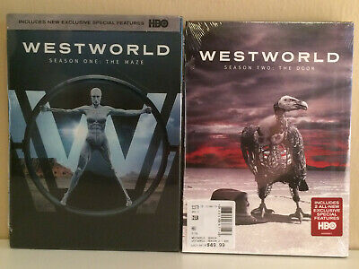 HBO Westworld Seasons 1 and 2 DVD - NEW SEALED