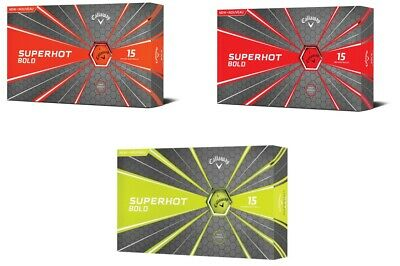 CALLAWAY SuperHot BOLD Matte Finish 15 Pack Golf Balls