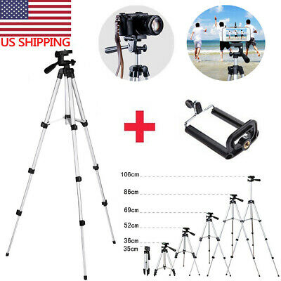 Professional Aluminium Portable Travel Tripod For Canon Sony DSLR Camera Phone