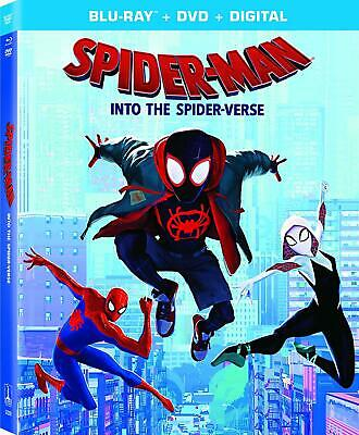 Spider-Man Into the Spider-Verse Blu-ray Only Please read