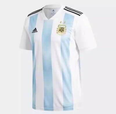 Adidas 2018 World Cup Argentina Home Jersey Mens Size Large Stitched BQ9324