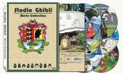 New Hayao Miyazaki Original Studio Ghibli 17 Movie Collection DVD Set Box