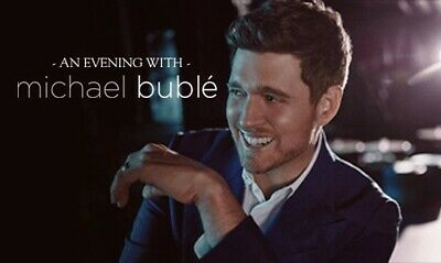 2 Tickets Michael Buble 327 AT-T Center San Antonio 5th Row - Free Parking
