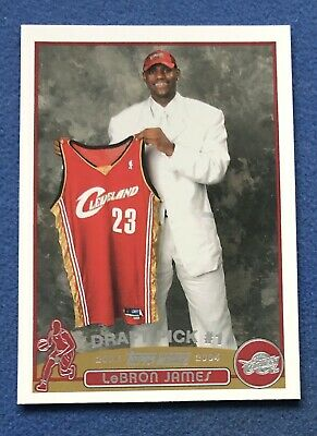 Lebron James 2003-04 Topps Rookie RC Card Cleveland Cavs - LA Lakers Star