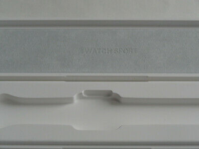 Apple Watch Series 1 38MM  WHITE PLASTIC CASE  BOX ONLY