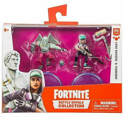 Fortnite Battle Royale Collection Duo Pack LOVE RANGER - TEKNIQUE 2 Figures