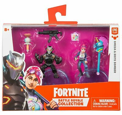 Duo Pack OMEGA - BRITE BOMBER 2 Figures Fortnite Battle Royale Collection EPIC
