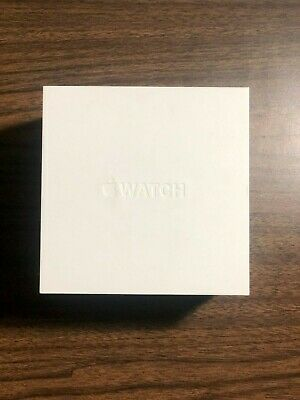 ORIGINAL Apple Watch Stainless Steel Empty Box and White plastic Case as well-