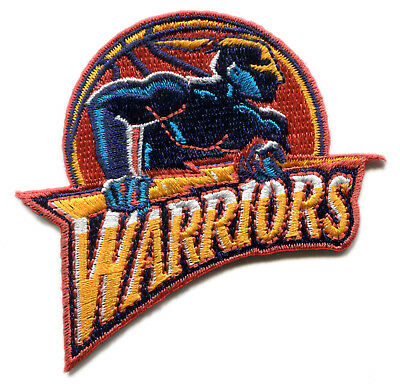 1997-2010 GOLDEN STATE WARRIORS NBA BASKETBALL 3 TEAM LOGO PATCH