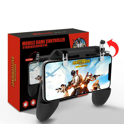 US Mobile Phone Game Controller Game-Pad Joystick Fire Trigger For PUBG Fortnite