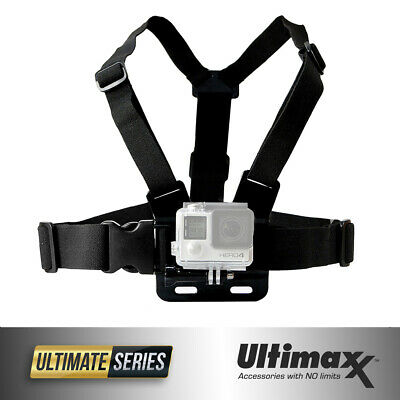 Chest Body Strap Mount Adjustable Belt Accessory for ALL GoPro HERO 8 7 6 5 4 3-