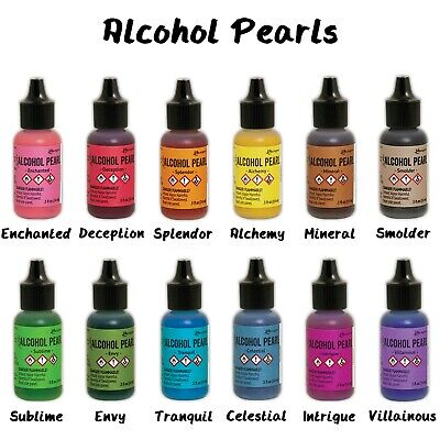 TIM HOLTZ® ALCOHOL INK PEARLS -5oz Choose Your Color From The Menu