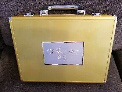 2016 Panini Flawless NFL Football Gold Briefcase With Keys NICE
