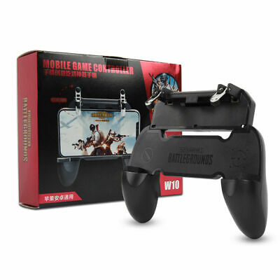 W10 Mobile Phone Game Controller Gamepad Joystick Fire Trigger For PUBG Fortnit