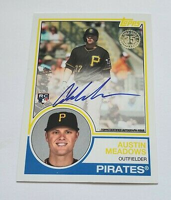 2018 Austin Meadows Topps 1983 Topps Sp Auto Autograph Rookie Rc NICE