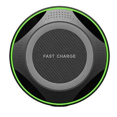 10W Ultra strong Fast Qi Wireless Charger Pad for iPhone X XR Samsung Phone