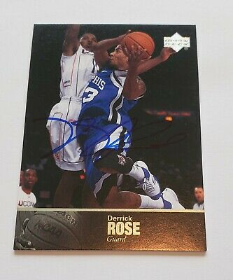 2010-11 Derrick Rose Upper Deck Ultimate Collection Auto Autograph NICE