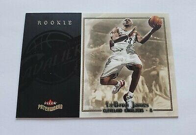 2003-04 LeBron James Fleer Patchworks Rookie Rc 293799 NICE