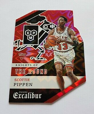 2015-16 Scottie Pippen Panini Excalibur Knights Of The Round 25 NICE