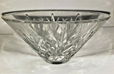 Elegant Rare Waterford Crystal Candy Dish with etching 6 bowl w modern design