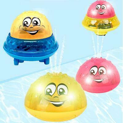 Infant Children Electric Induction Sprinkler Toy Baby Play Bath ball Water Toys