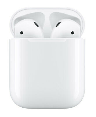 NEW Apple AirPods with Charging Case - Second Generation WhiteMV7N2AMA
