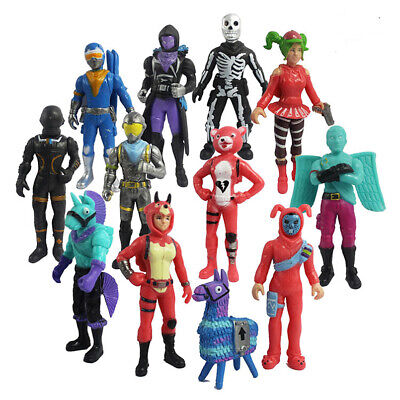12pcLot Fortnite Battle Royale PVC Figure Toy Pack Doll Save The World Playset