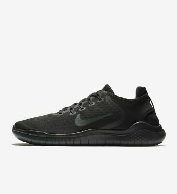 Nike Free RN 2018 Black Anthracite 942836-002 Mens Running Shoes NEW