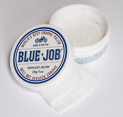 Blue-Job® Chrome Polish-Perfect for your Motorcycle